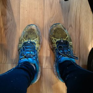 Muddy Runnng Shoes
